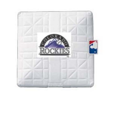 Colorado Rockies Licensed Jack Corbett® Base from Schutt