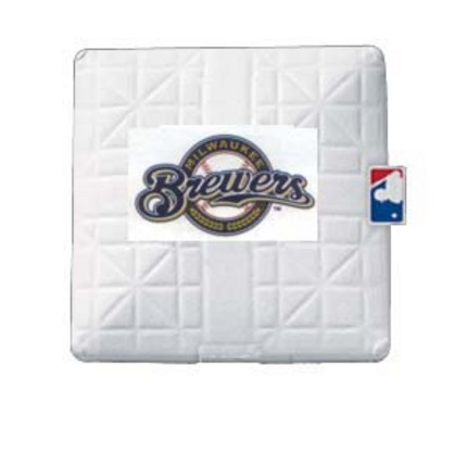 Milwaukee Brewers Licensed Jack Corbett® Base from Schutt