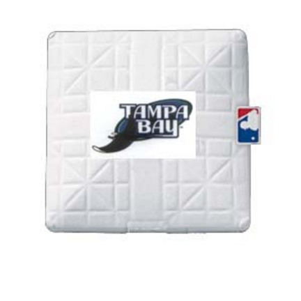Tampa Bay Rays Licensed Jack Corbett® Base from Schutt