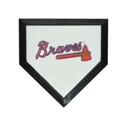 Atlanta Braves Licensed Authentic Pro Home Plate from Schutt