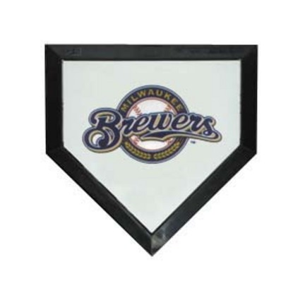 Milwaukee Brewers Licensed Authentic Pro Home Plate from Schutt