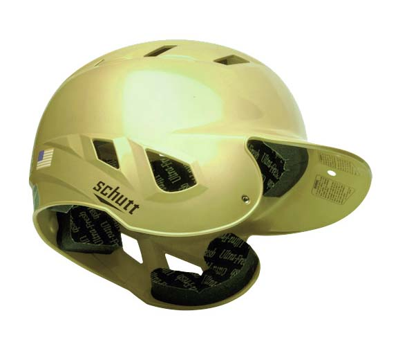 "Schutt AIR-6BB Baseball Batting Helmet - """"High Gloss"""" One Size Fits All"" SCH-310650SCCC-HG"
