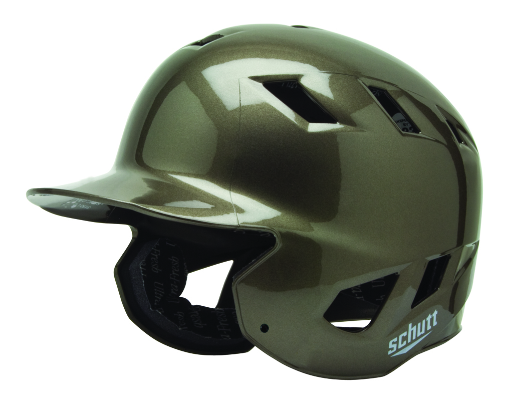 "Schutt AIR-8BB Baseball Batting Helmet - """"High Gloss"""" Fitted"" SCH-310850SCCC-HG"