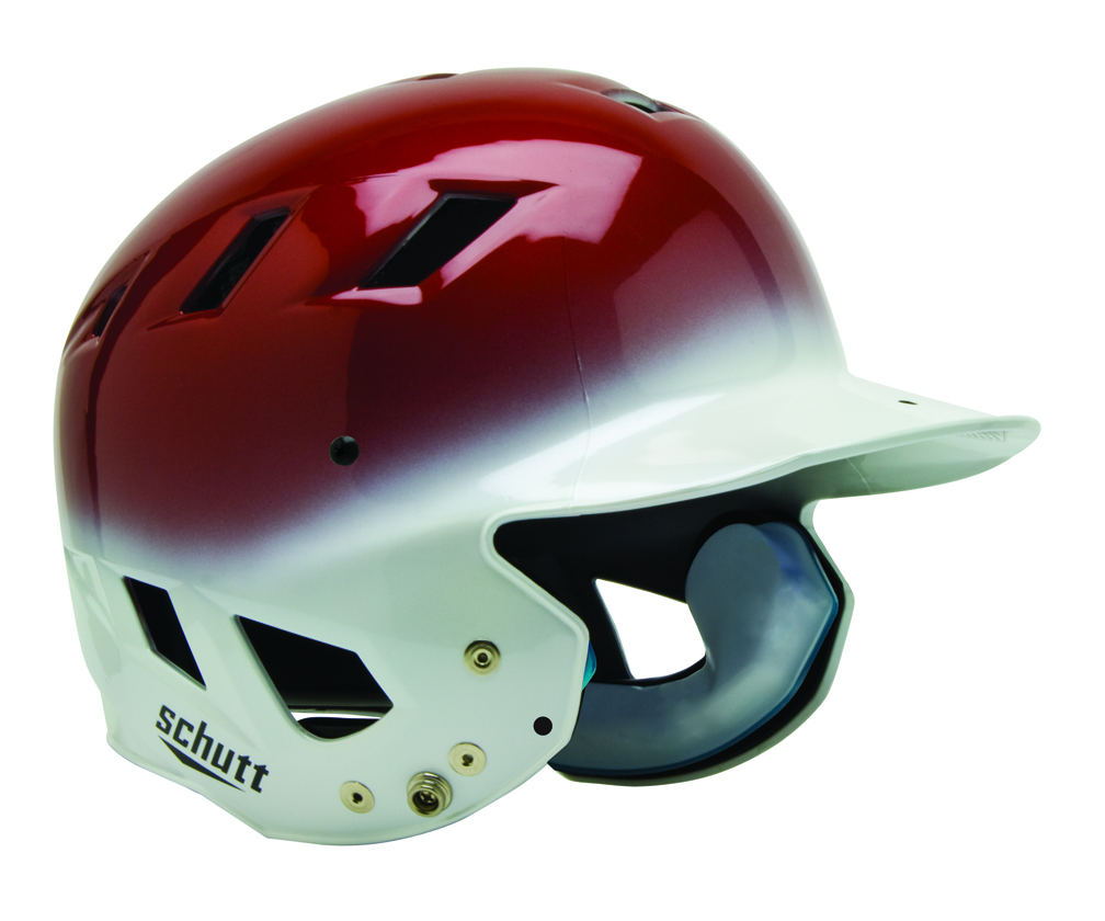"Schutt AIR Maxx T Baseball / Softball Batting Helmet - """"High Gloss"""" Fitted"" SCH-311100SCCC-HG"