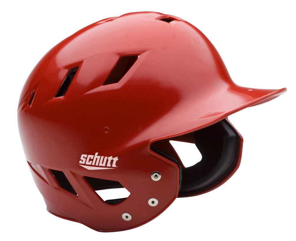 """Schutt AIR Maxx T Baseball Batting Helmets - """"Matte"""" Fitted (Set of 3) Sports Gear"""