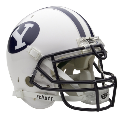 Brigham Young (BYU) Cougars NCAA Schutt Full Size Authentic Football Helmet