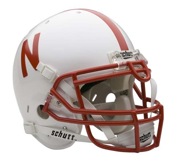 Nebraska Cornhuskers NCAA Schutt Full Size Authentic Football Helmet