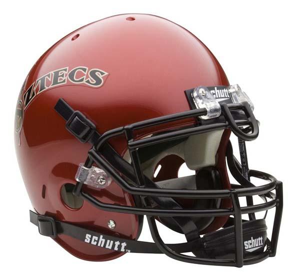 San Diego State Aztecs NCAA Schutt Full Size Authentic Football Helmet