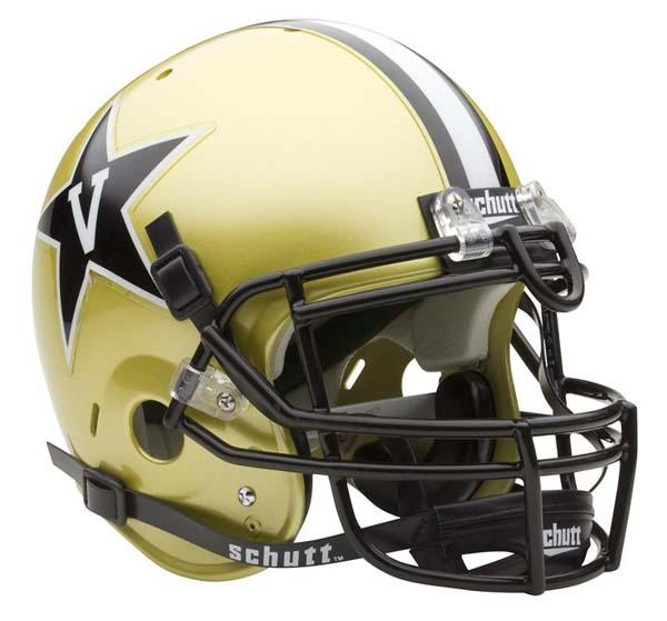 Vanderbilt Commodores NCAA Schutt Full Size Authentic Football Helmet
