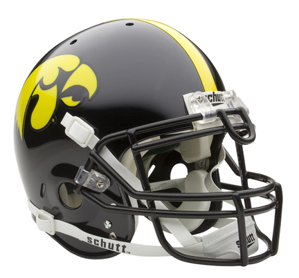 Iowa Hawkeyes NCAA Schutt ''Air'' Full Size Authentic Football Helmet