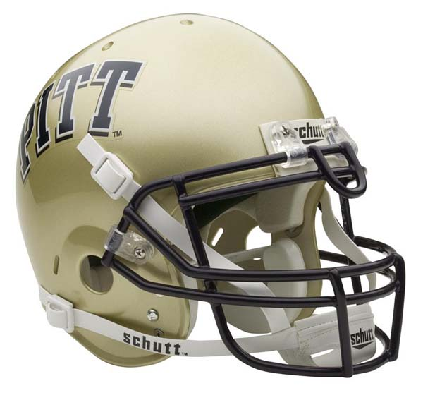 Pittsburgh Panthers NCAA Schutt Full Size Authentic Football Helmet