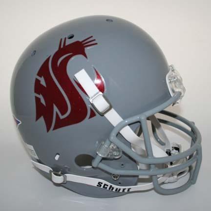 Washington State Cougars NCAA Schutt Full Size Authentic Football Helmet