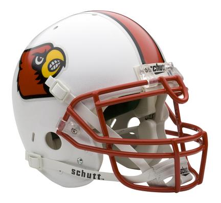 Louisville Cardinals NCAA Mini Authentic Football Helmet From Schutt