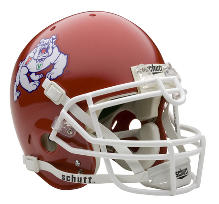 Fresno State Bulldogs NCAA Mini Authentic Football Helmet From Schutt