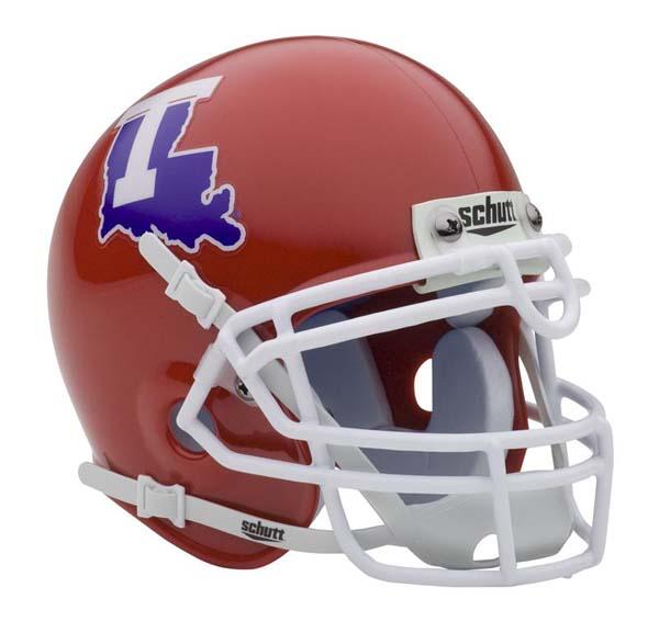 Louisiana | Authentic | Football | Bulldog | Helmet | Tech | NCAA | Mini | From