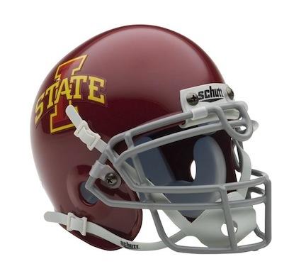 Iowa State Cyclones NCAA Mini Authentic Football Helmet from Schutt