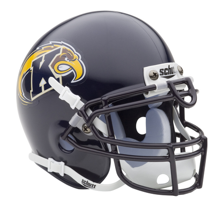 Kent State Golden Flashes NCAA Mini Authentic Football Helmet From Schutt