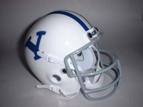 Brigham Young (BYU) Cougars  1978 Schutt Throwback Mini Helmet