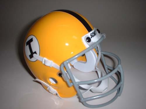 Iowa Hawkeyes 1965 Schutt Throwback Mini Helmet