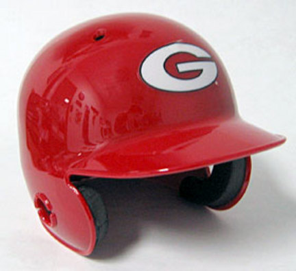 Georgia Bulldogs Mini Batter's Helmet from Schutt
