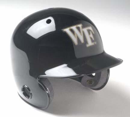Wake Forest Demon Deacons Mini Batter's Helmet from Schutt (Set of 4 Helmets)