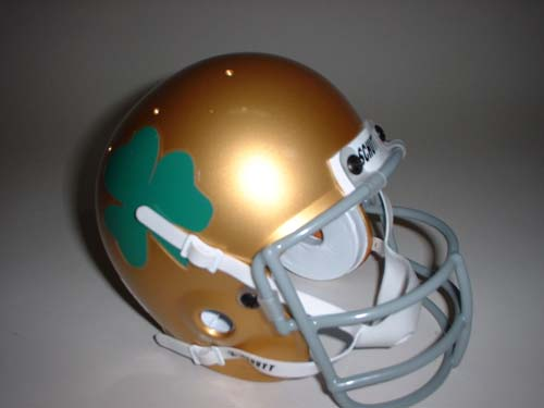 Notre Dame Fighting Irish 1959-1962 Schutt Throwback Mini Helmet