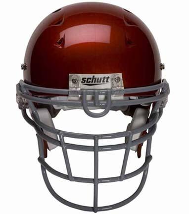 DNA Stainless Steel Standard Style Face Guard (DNA-RJOP-UB-DW) (Schutt Football Helmet NOT included)