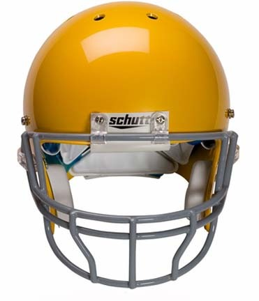 Grey Reinforced Oral Protection (OPO-XL) Full Cage Football Helmet Face Guard from Schutt
