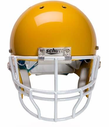 Faceguard TAMPA BAY ORANGE Schutt Super Pro NOPO Football Helmet Facemask