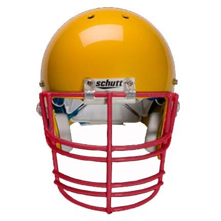 Scarlet Nose, Jaw and Oral Protection (NJOP-XL) Full Cage Football Helmet Face Guard from Schutt