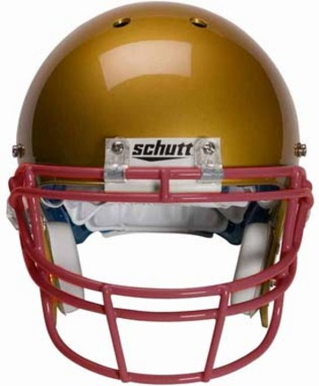 Scarlet Reinforced Oral Protection (ROPO) Full Cage Football Helmet Face Guard from Schutt