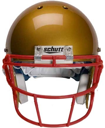 Scarlet Reinforced Oral Protection (ROPO-SW) Full Cage Football Helmet Face Guard from Schutt