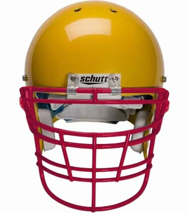 Scarlet Reinforced Jaw and Oral Protection (RJOP-XL-DW) Full Cage Football Helmet Face Guard from Schutt