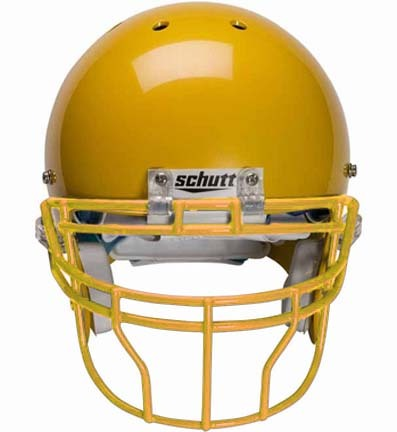 Gold Reinforced Oral Protection (ROPO-DW-XL) Full Cage Football Helmet Face Guard from Schutt
