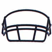 Schutt Gold Oral Protection (OPO) Full Cage Football Helmet Face Guard