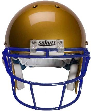 Navy Reinforced Oral Protection (ROPO-SW) Full Cage Football Helmet Face Guard from Schutt