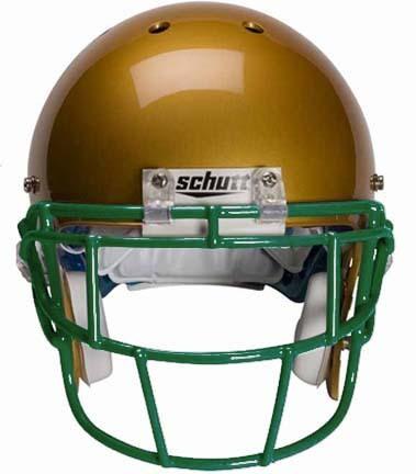 Dark Green Eyeglass Oral Protection (EGOP) Football Helmet Face Guard from Schutt