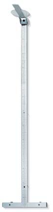 Full Length Aluminum Stadiometer (Measures 6 - 230 Centimeters)