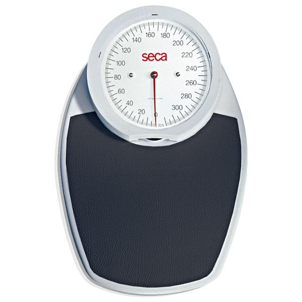 Seca 750 Mechanical Floor Scale with Precision Weighing - Measures Kilograms (Black Tread)