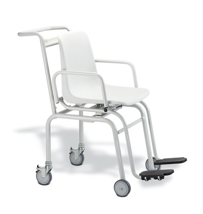 Seca 952 Electronic Seated Chair Scale with Fold Up Armrests and Footrests