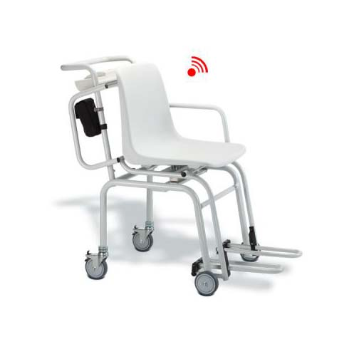 Seca 954 Digital Chair Scale with Wheels and Armrests