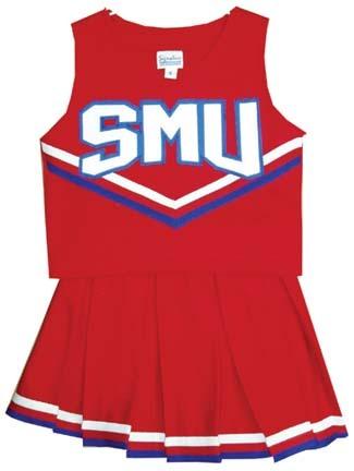 Southern Methodist (SMU) Mustangs Cheerdreamer Young Girls Cheerleader Uniform