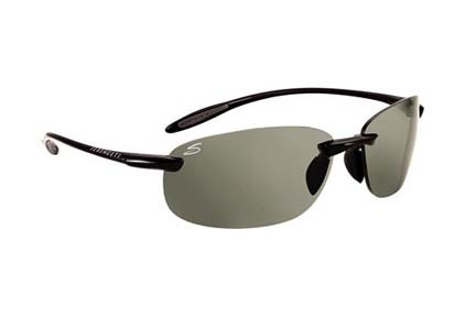 Nuvino Polar PhD™ Sport Collection Sunglasses (Shiny Black Frame and Polar PhD™ CPG Lenses) from Seren