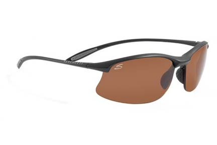 Maestrale Polar PhD™ Sport Collection Sunglasses (Satin Black Frame and Polar PhD™ Drivers Lenses) fro