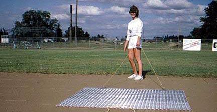 Baseball Infield Drag Mat - 6' x 6'