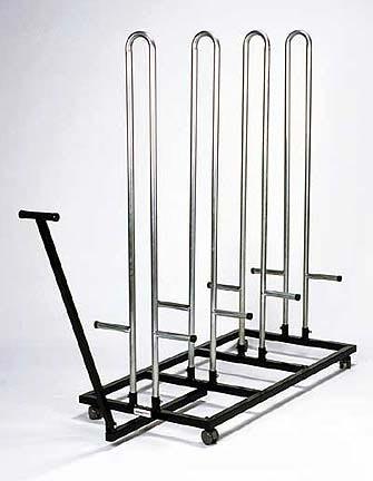 Shoulder Pad Cart - Stores 100 Pads