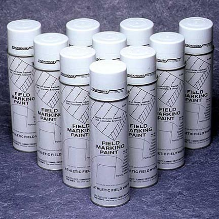 Yellow High Quality Aerosol Field Marking Paint - Case of 12 Cans