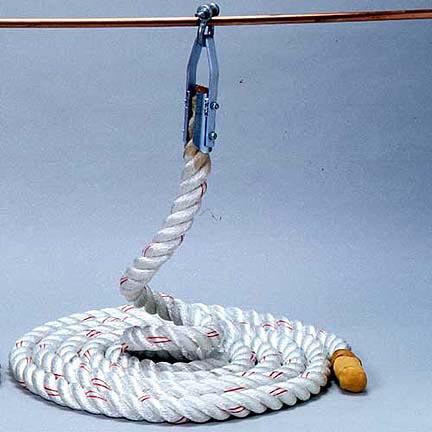 "Dacron Climbing Rope - 15 Feet Long (1 1/2"" Diameter)"