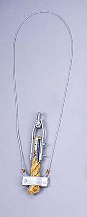 Safety Cable for Climbing Rope