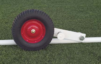 Soccer Goal Wheel Attachment
